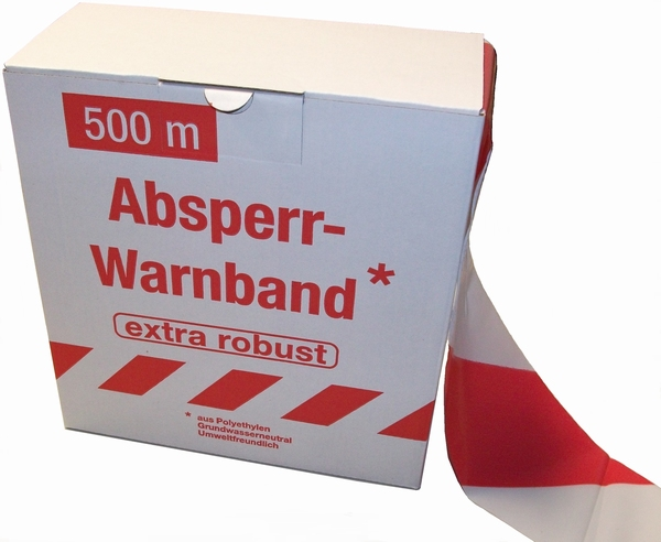 Absperrband extra robust