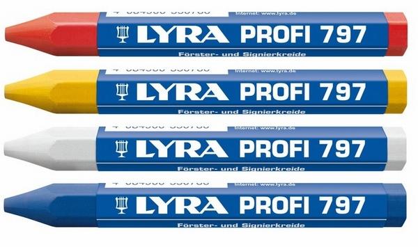 Lyra Förster-/Signierkreide Profi 797 Ø12mm