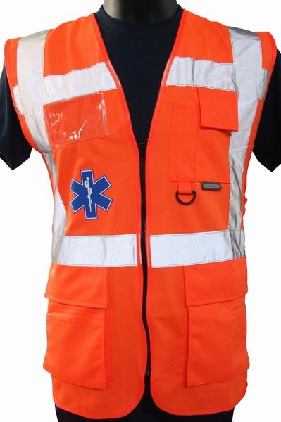 "Fluo vest ""AMBULANCIER"""