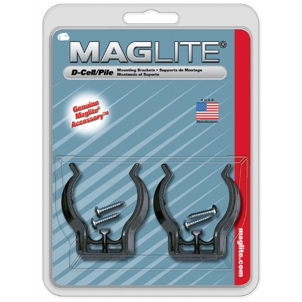 MagLite D-Cell Crochets de fixation