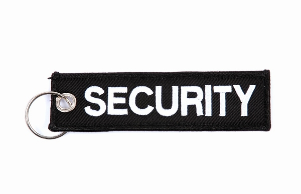 Sleutelhanger 'SECURITY'