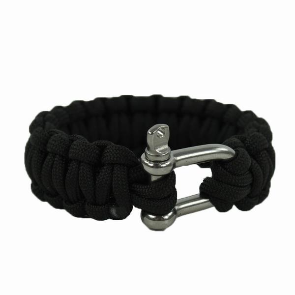 Bracelet paracorde avec manille 22 mm