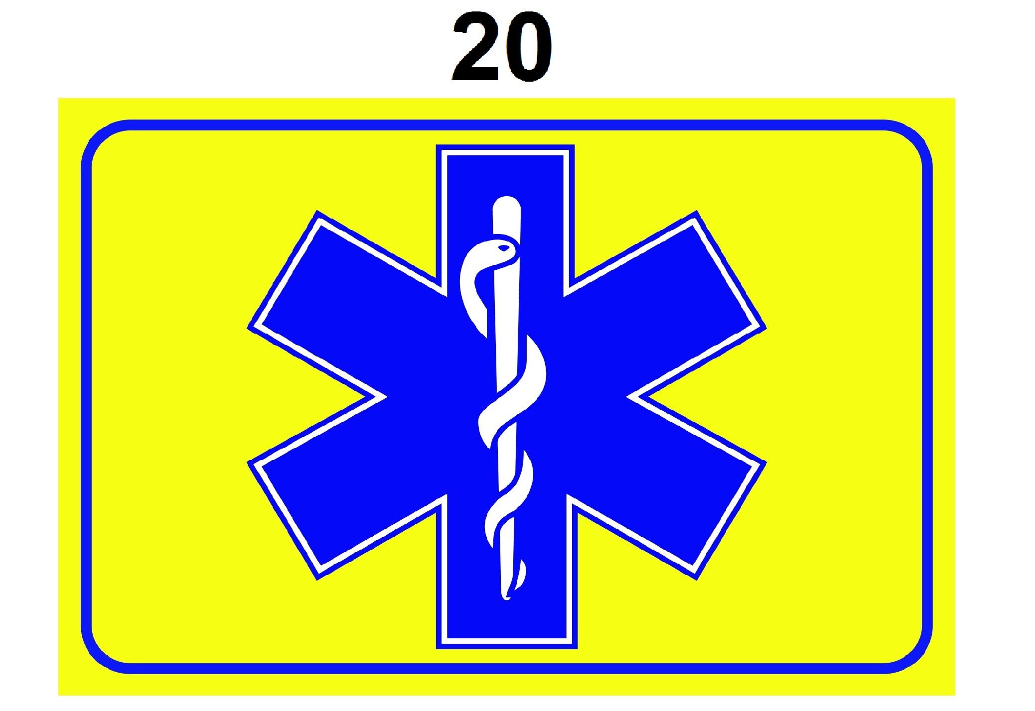 Autoschildje voor Hulpverleners