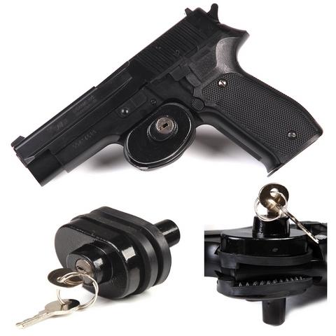 Fosco Sicherungsschloss für Feuerwaffen mit 2 Schlüsseln