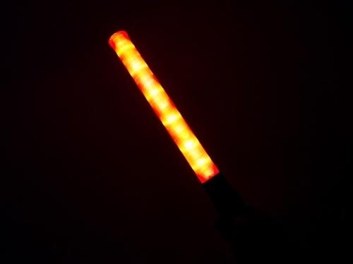 Verkeerswijzer toortslamp rood